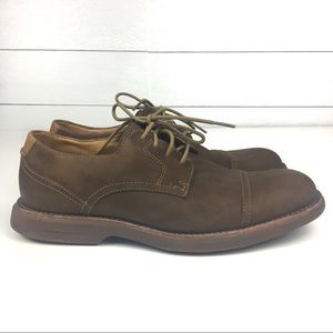 Sperry leather top sided suede size 9 M